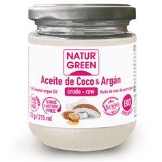 Aceite Coco y Argán Bio 215 ml. Naturgreen
