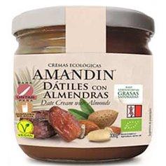Crema Almendras Dátiles Bio 330 gr. Amandin
