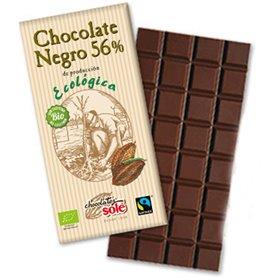 Chocolate Negro 56% Bio 100 gr. Solé