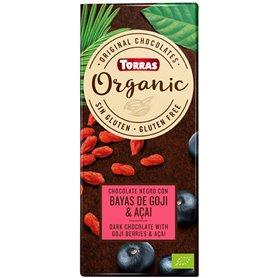 Chocolate Goji Acai Bio 100 gr. Torras