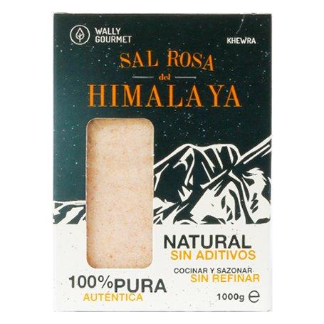 Sal Rosa Himalaya fina 1 kg. sin aditivos
