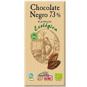 Chocolate Negro 73% Ecológico 100 gr. Solé