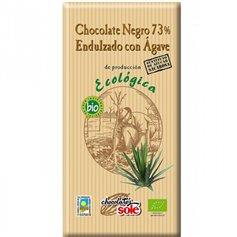 Chocolate Negro 73% con Ágave Bio 100 gr. Solé