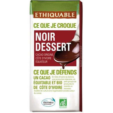 Chocolate Fondant Bio 200 gr. Ethiquable