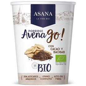 Porridge Avena Cacao Bio 50 gr. Asana