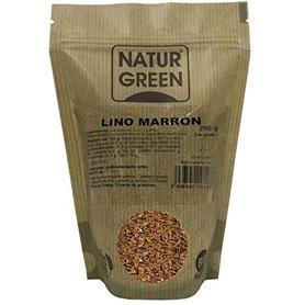 Lino Marrón Ecológico 250 gr. NaturGreen