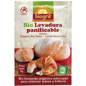 Levadura polvo pastelería panadería Bio 9 gr. Biográ