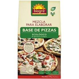 Mezcla Base Pizza Bio 510 gr. Biográ