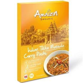 Pasta Curry Tikka Massala bio 80 gr. Amaizin