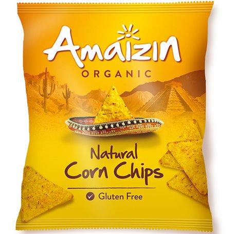 Nachos Maíz sin gluten Bio 150 gr. Amaizin