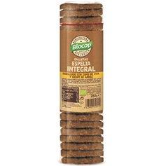 Galletas Espelta integral sin azúcar Bio 260 gr. Biocop