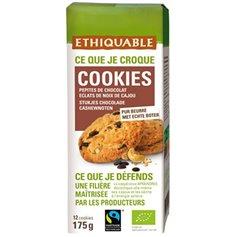Cookies Anacardos Chocolate Bio 175 gr. Ethiquable