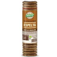 Galletas Espelta chips Chocolate Bio 250 gr. Biocop