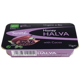Halva Chocolate negro Bio 75 gr. Sunita