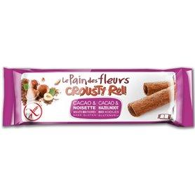 Rollitos rellenos cacao avellana s/gluten Bio 25 gr. Le Pain des fleurs