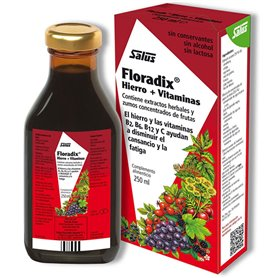 Floradix Hierro Vitaminas 250 ml. Salus