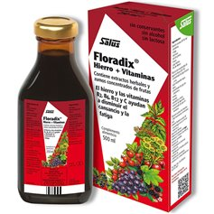 Floradix Hierro Vitaminas 500 ml. Salus