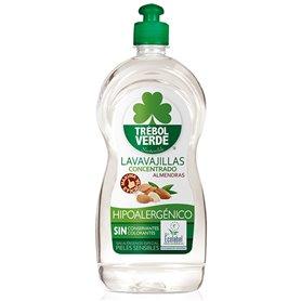 Lavavajillas concentrado Almendra Sensible Bio 750 ml. Trebol Verde