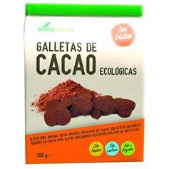 Galletas Cacao Bio sin gluten Bio 200 gr. Soria Natural