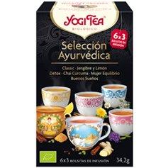 Selección Ayurvédica 6x3 tipos Bio 18 ud. Yogi Tea