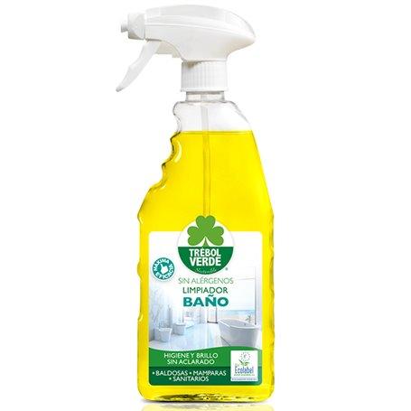 Limpiador Baños pulverizador Bio 750 ml. Trebol Verde