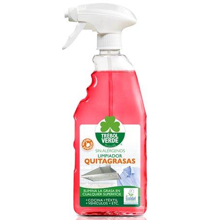 Limpiador Quitagrasas pulverizador Bio 750 ml. Trebol Verde