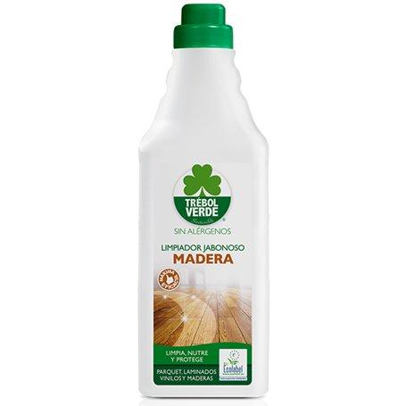 Limpiador Parquet Madera Bio 750 ml. Trebol Verde