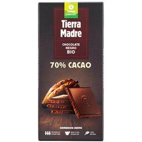 Chocolate Negro 70% Bio 80 gr. Comercio Justo Oxfam