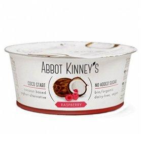 Yogur Coco Frambuesa Bio 125 ml. Abbot Kinney's