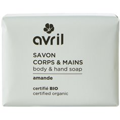 Jabón manos cuerpo Almedras Bio 100 gr. Avril