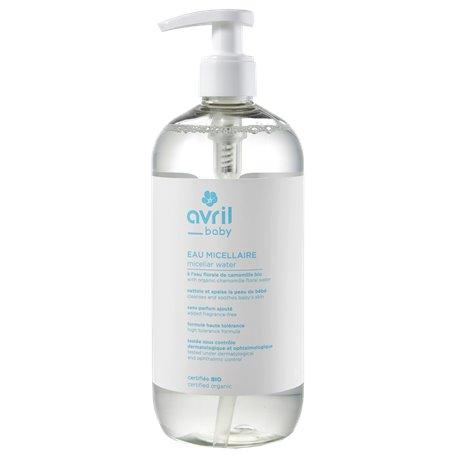 Agua Micelar Baby Bio 500 ml. Avril