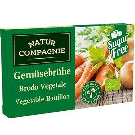 Caldo Verduras cubitos Bio 8x10,5 gr. Natur Compagnie