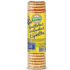 Galletas saladas Espelta Bio 230 gr. Biocop
