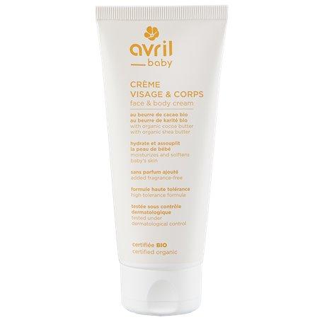 Crema facial corporal Baby Bio 100 ml. Avril