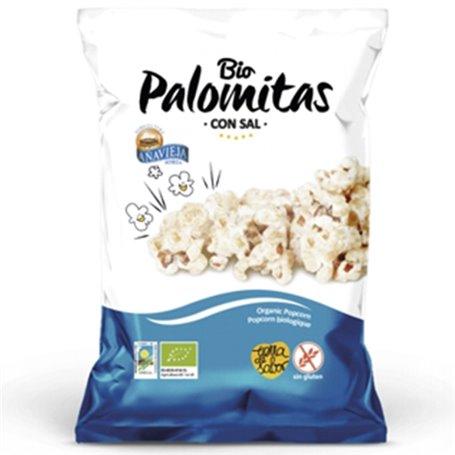 Palomitas Maíz Aceite Oliva Bio 50 gr. Añavieja