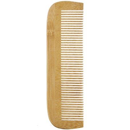 Peine Bambú dientes finos 1 ud. Avril
