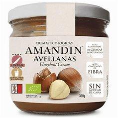Crema Untar Avellanas Bio 330 gr. Amandin