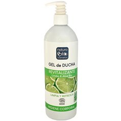 Gel ducha revitalizante Limón Aloe Bio 740 ml. Naturabio