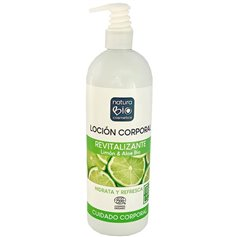 Crema corporal revitalizante Limón Aloe Bio 740 ml. Naturabio