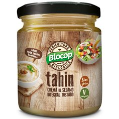 Tahín integral tostado sin sal Bio 225 gr. Biocop