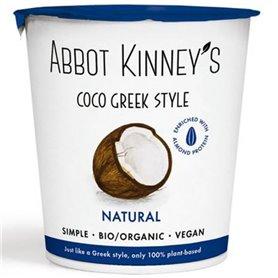 Yogur Coco Griego Natural Bio 350 ml. Abbot Kinney's