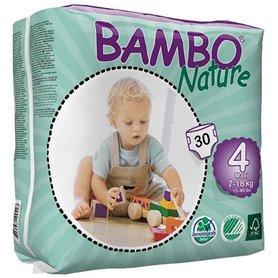 Pañales 7-18 kg. Talla 4 30 ud. Bambo Nature