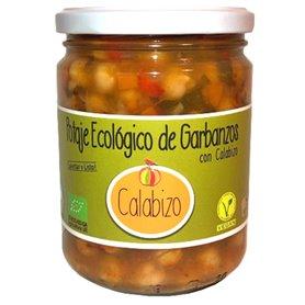 Potaje Garbanzos con Calabizo Bio 440 gr. Calabizo