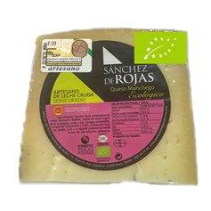 Cuña queso oveja manchego semicurado Bio 250 gr. Peñas Negras