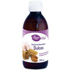 Aceite Almendras dulces corporal 250 ml. El Granero