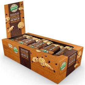 Galletas Espelta chips Chocolate Bio 32 gr. Biocop