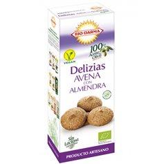 Delizias Avena Almendra 125 gr. Biodarma