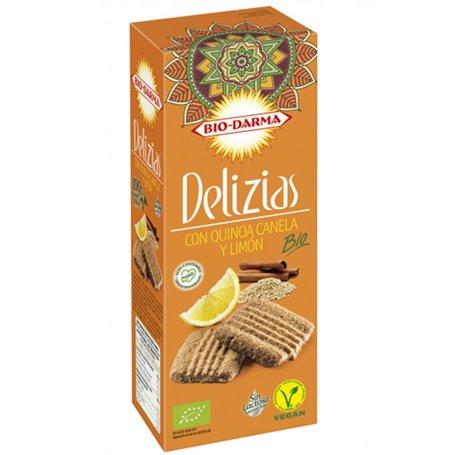 Galletas Quinoa Canela Limón Bio 125 gr. Delizias