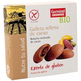 Galletas Crema Cacao s/gluten Bio 200 gr. Germinal