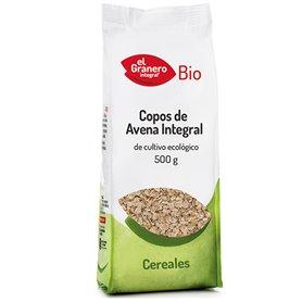 Copos Avena integrales Bio 500 gr. El Granero